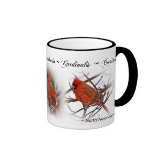 Taza cardinal roja - Cardinalis