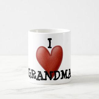 Taza cariñosa de la abuela