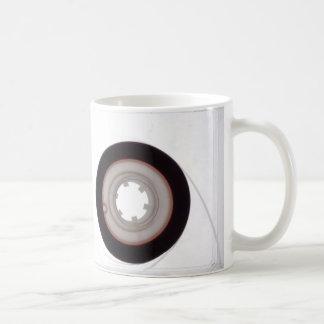 Taza: Casete audio de la cinta magnética. Tema del Taza De Café