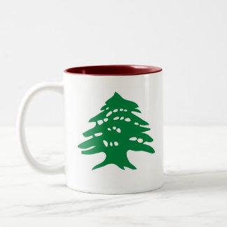 taza - cedro libanés