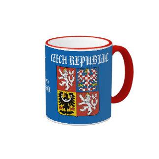 Taza central de la República Checa de Bohemia