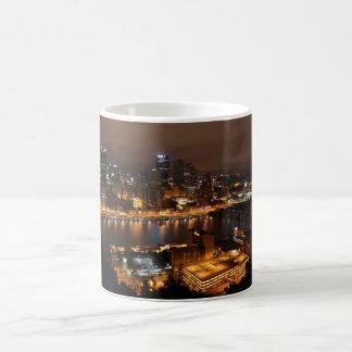 Taza céntrica de Pittsburgh