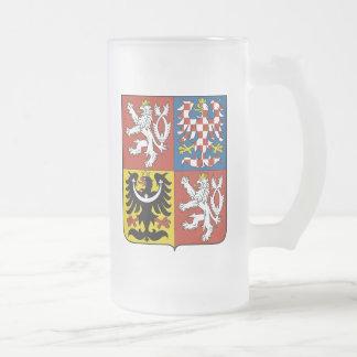 Taza checa del escudo de armas