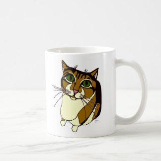 Taza chillona del gato