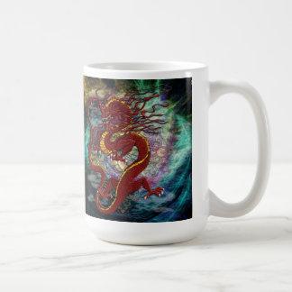 Taza china del dragón