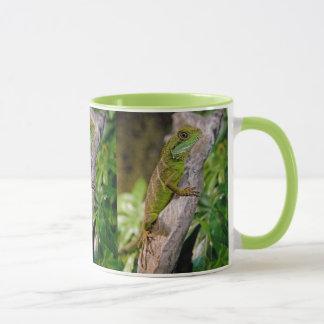 Taza china del dragón de agua