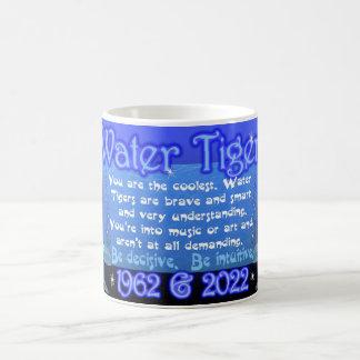 Taza china del zodiaco del tigre del agua para