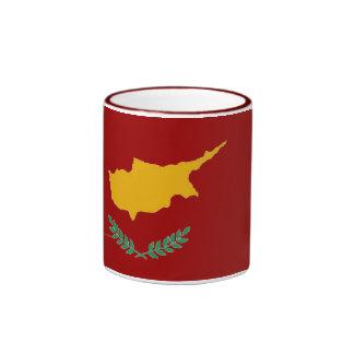Taza chipriota de la bandera de Chipre