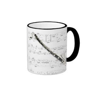 Taza - clarinete bajo con partitura
