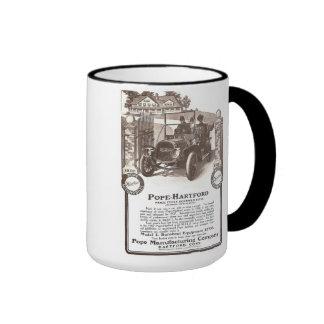Taza clásica 1907 del coche de papa Hartford
