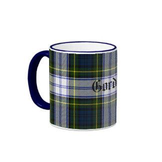 Taza clásica de encargo de la tela escocesa de tar