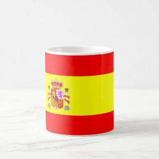Taza clásica de la bandera de España 11 onzas