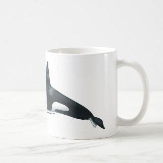 Taza clásica de la orca masculina