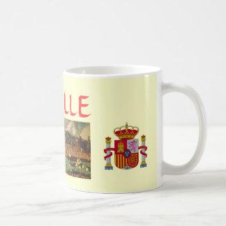 Taza clásica de la pintura de Sevilla*