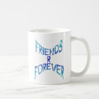 Taza clásica de los amigos R para siempre
