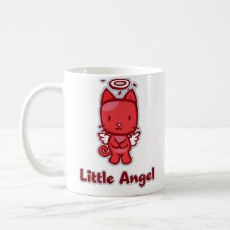 """Taza clásica de """"poco diablo del ángel… pequeño"""""""