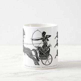 Taza clásica del té del arte del vintage de los
