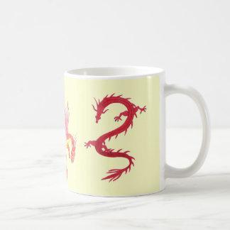 Taza coa alas del dragón