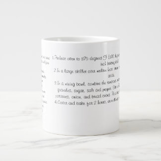 Taza cocida del caldo de buey taza grande