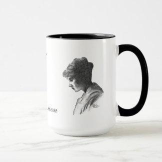 Taza COLOR DE ROSA de EMMA HODGES QUINN 1896-1988