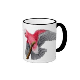 Taza color de rosa de Galah del Cockatoo de Breast