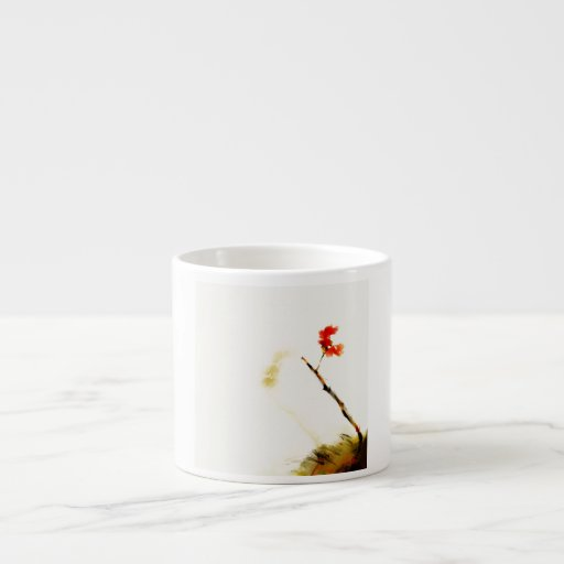 taza color de rosa del café express taza espresso