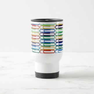 Taza coloreada del viaje de los Paperclips