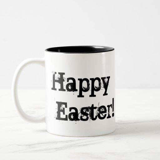 Taza colorida 3 de los huevos de Pascua