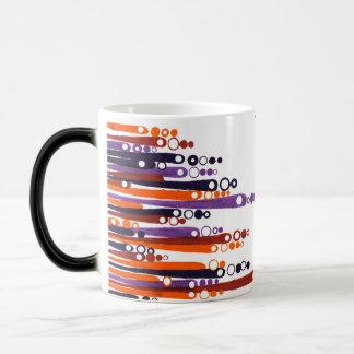 taza colorida - diseño retro