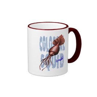 Taza colosal del calamar