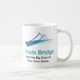 Taza comercial del puente - blanco