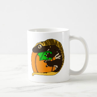Taza con cresta del Gecko del otoño (c)