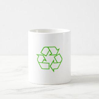 Taza con el emblema de Recyling