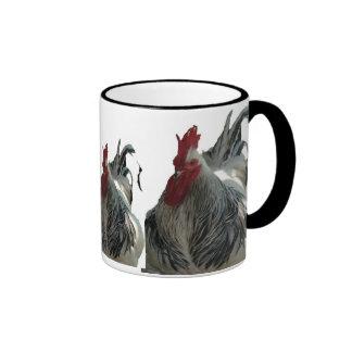 Taza con el gallo