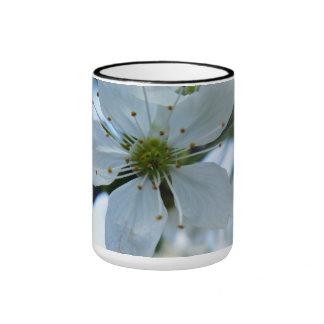 Taza con flor de kirsch