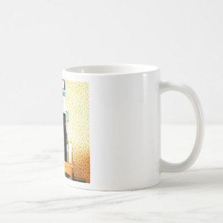 """""""Taza con imagen de la microonda """" Taza De Café"""