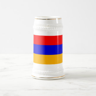 Taza con la bandera de Armenia