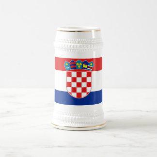 Taza con la bandera de Croacia