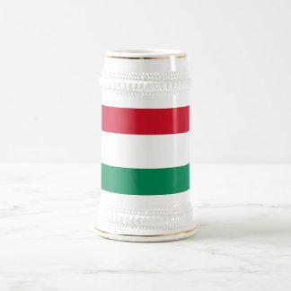 Taza con la bandera de Hungría