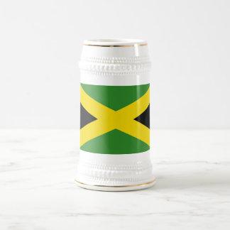 Taza con la bandera de Jamaica