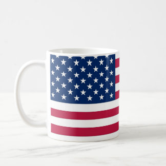 Taza con la bandera de los E.E.U.U.