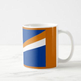 """Taza con la """"bandera de Marshall Islands """""""