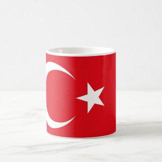 Taza con la bandera de Turquía