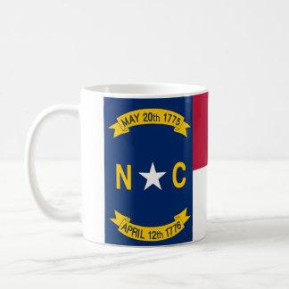 Taza con la bandera del estado de Carolina del