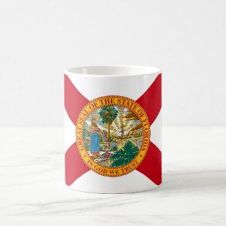 Taza con la bandera del estado de la Florida - los