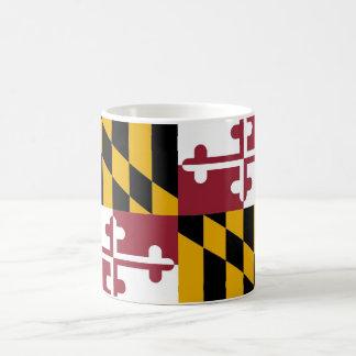 Taza con la bandera del estado de Maryland - los