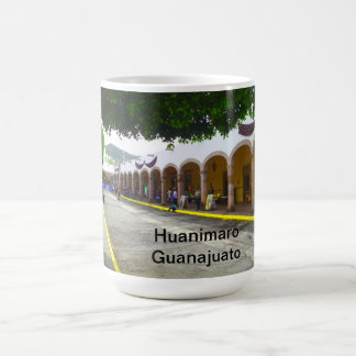 Taza con la imagen de Huanimaro, Guanajuato