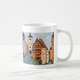 Taza con la pintura de Rottenburg