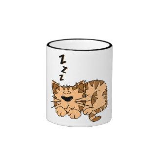 Taza con móvil de gato