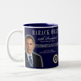 Taza conmemorativa 2013 de la inauguración de Obam
